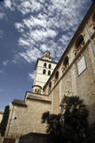 Kirche der Inka-Stadt stockfotos