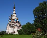 Kirche der Kasan-Ikone der Mutter des Gottes Stockfoto