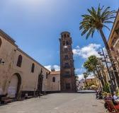 Kirche der Konzeption, San Cristobal de La Laguna, Santa Cruz de Tenerife, Spanien - 13 05 2018 lizenzfreie stockfotografie