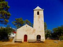 Kirche in der Natur Stockbild