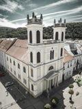 Kirche in der Stadt Banska Bystrica, Slowakei Lizenzfreies Stockfoto