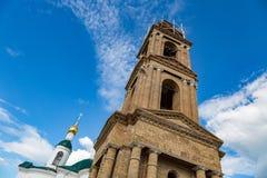 Kirche der Theodorovskaya-Ikone der Mutter des Gottes vom 19. Jahrhundert in Uglich, Russland Stockfoto