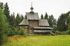 Kirche der Transfiguration (Besteigung) in Vasilevo Russland lizenzfreie stockbilder