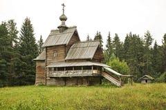 Kirche der Transfiguration (Besteigung) in Vasilevo Russland lizenzfreies stockfoto