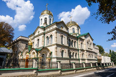 Kirche der Transfiguration in Chisinau, Moldau Lizenzfreies Stockfoto