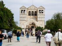 Kirche der Transfiguration in Israel Lizenzfreies Stockbild