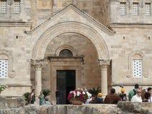 Kirche der Transfiguration in Israel Lizenzfreie Stockbilder