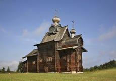 Kirche der Transfiguration in Khokhlovka Dauerwelle krai, Russland stockfoto