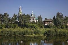 Kirche der Transfiguration in Kungur Perm Krai Russland stockbild