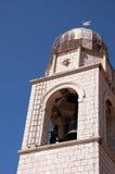 Kirche in der ummauerten Stadt von Dubrovnic in Kroatien Europa Dubrovnik wird ` Perle der Adria mit einem Spitznamen belegt Lizenzfreies Stockbild