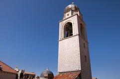 Kirche in der ummauerten Stadt von Dubrovnic in Kroatien Europa Dubrovnik wird ` Perle der Adria mit einem Spitznamen belegt Stockbilder
