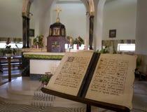 Kirche der Vermehrung in Tabgha Stockfoto