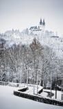 Kirche in der Winterzeit Stockfoto