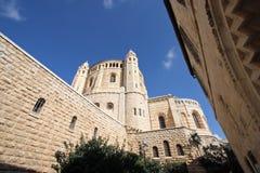 Kirche des Dormition, Jerusalem Lizenzfreies Stockfoto
