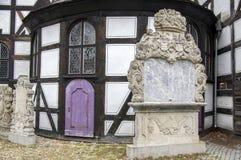 Kirche des Friedenshölzernen Erbes in Swidnica in Polen lizenzfreies stockfoto