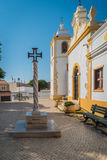 Kirche des göttlichen Retters, Alvor, Portugal Lizenzfreie Stockfotos