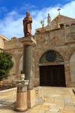 Kirche des Geburt Christis in Bethlehem Stockbild