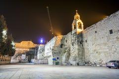 Kirche des Geburt Christis, Bethlehem Stockfotografie