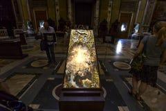 Kirche des Gesu, Rom, Italien Stockbild