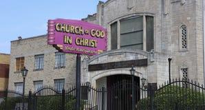 Kirche des Gottes in Christus, Memphis, TN Stockfotos