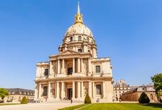 Kirche des Hauses von behindertem, Paris Lizenzfreie Stockbilder