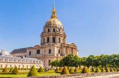 Kirche des Hauses von behindertem, Paris Stockbild