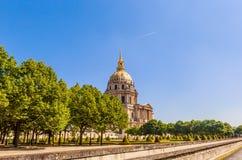 Kirche des Hauses von behindertem, Paris Lizenzfreie Stockfotografie