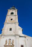 Kirche des Heilig-Kreuzes in Devin, Bratislava, Slowakei Lizenzfreies Stockbild
