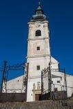 Kirche des Heilig-Kreuzes in Devin, Bratislava, Slowakei Stockfotos