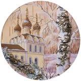 Kirche des Heiligen Dmitry auf dem Blut Lizenzfreie Stockbilder