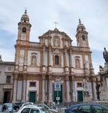 Kirche des Heiligen Dominic Stockbild