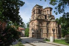 Kirche des heiligen ersten Märtyrers Stephen, Lazarica Stockbilder