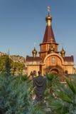Kirche des heiligen Erzengels Michael in Altea, Alicante Lizenzfreie Stockfotos