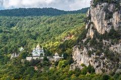 Kirche des heiligen Erzengels Michael in Oreanda Stockfotos
