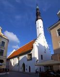 Kirche des heiligen Geistes in Tallinn lizenzfreie stockfotos