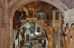 Kirche des heiligen Grabes Stockbild