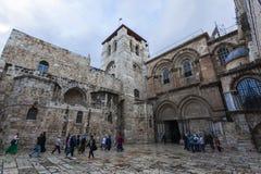 Kirche des heiligen Grabes Jerusalem, Israel Lizenzfreie Stockbilder