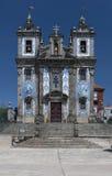 Kirche des Heiligen Ildefonso Stockbilder