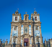 Kirche des Heiligen Ildefonso, Porto, Portugal Stockfotos