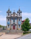 Kirche des Heiligen Ildephonsus Lizenzfreies Stockfoto