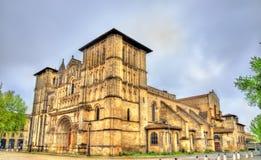 Kirche des heiligen Kreuzes im Bordeaux, Frankreich Lizenzfreie Stockfotografie