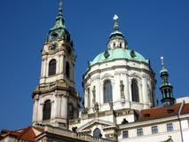 Kirche des Heiligen Lawrence, Prag Lizenzfreies Stockbild