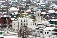 Kirche des Heiligen Michael Archangel Tobolsk Lizenzfreies Stockfoto
