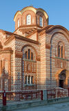 Kirche des Heiligen Paraskeva, Nea Kallikratia, Griechenland Stockfotografie