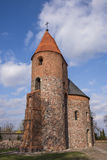 Kirche des Heiligen Procopius in Strzelno Stockfotos