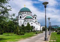 Kirche des Heiligen Sava, Belgrad, Serbien stockfotografie
