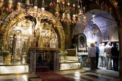 Kirche des heiligen Sepulchre, Jerusalem Stockbild
