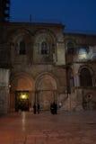 Kirche des heiligen Sepulchre in Jerusalem Stockfotos