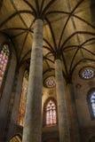 Kirche des Jacobins-Innenraums Lizenzfreie Stockfotos
