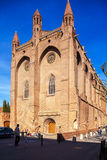 Kirche des Jacobins, Toulouse stockbild